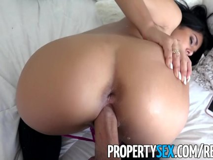 PropertySex - Inanse hot roommate almost evicted for loud music