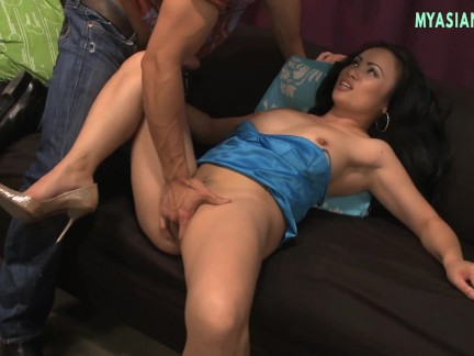 PERFECT POLE DANCE PARTY WITH ASIAN TIGHT PUSSY