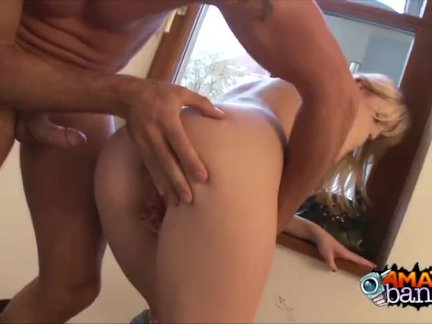 Condo Fire Exit Fucking For Amateur Denisa