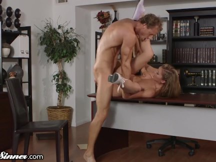 Passionate Hot Sex With Her College Prof.