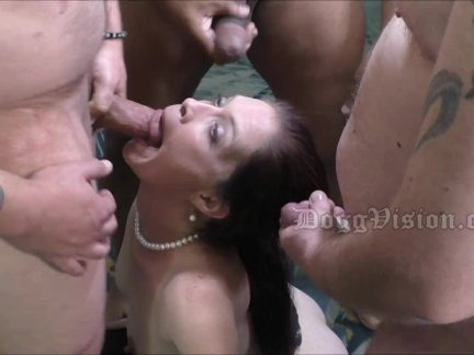 4 Cocks for Lonely Anal MILF